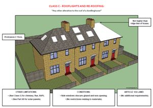 This is the first example screenshot for the above document, which provides a visual guide to householder permitted development legislation