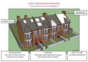 This is the second example screenshot for the above document, which provides a visual guide to householder permitted development legislation